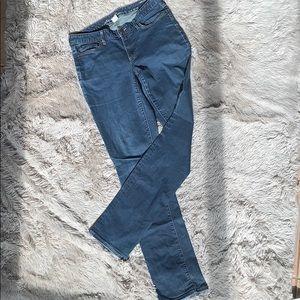Eddie Bauer curvy high rise straight leg jeans